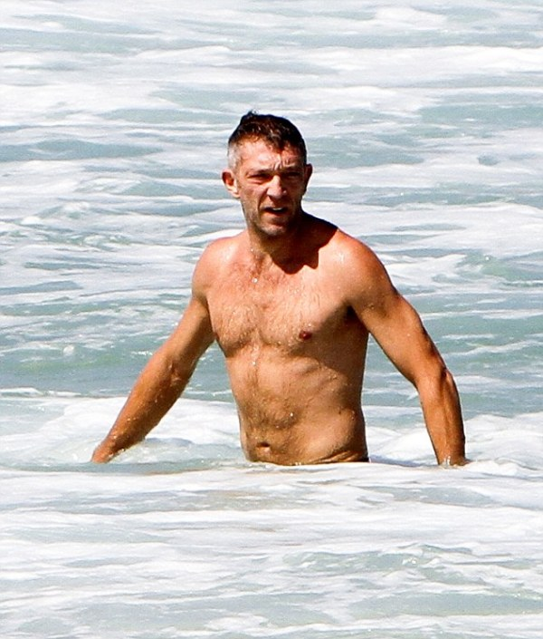 Vincent Cassel Soaks Up The Sun in Rio